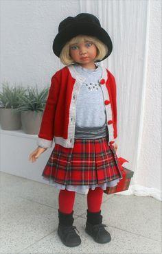 Зимняя коллекция 2016 от Angela Sutter. / Коллекционные куклы Angela Sutter / Бэйбики. Куклы фото. Одежда для кукол