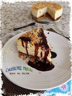 Cheesecake praliné et noix de pécan