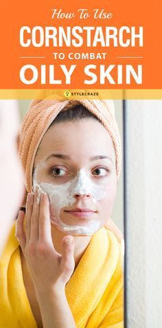Oily skin is a common problem faced by many of us. We have good news for you – there is a magical ingredient that can help you get rid of oily skin. The magical remedy that we are talking about is cornstarch. Add cornstarch to your skin care regimen and bid goodbye to oily skin woes.  #SkinCare