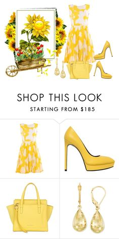 """Smile"" by sjlew ❤ liked on Polyvore featuring Yves Saint Laurent, Salvatore Ferragamo, women's clothing, women, female, woman, misses and juniors"