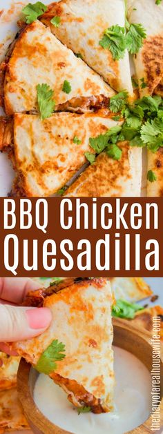 BBQ Chicken Quesadilla - Food 2 Try - Chicken Recipes Lunch Recipes, Mexican Food Recipes, Dinner Recipes, Cooking Recipes, Healthy Recipes, Potato Recipes, Pasta Recipes, Crockpot Recipes, Soup Recipes