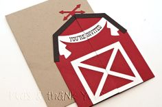 Hey, I found this really awesome Etsy listing at https://www.etsy.com/listing/167926889/signature-red-barn-birthday-invitations