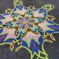 Diggin the funky colors    Follow me on Facebook http://www.facebook.com/joe.mangrum.art Ⓒ 1994-2014 Joe Mangrum http://www.joemangrum.com Paintings – Sand Paintings – Prints – Installations – Events – Commissions