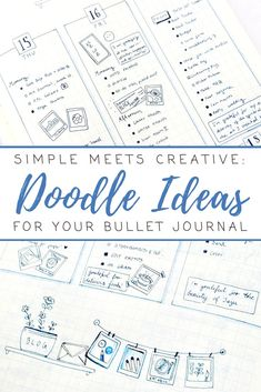 Doodle ideas – from gratitude logs to a food diary, self-care practice and creative projects, I went… – Bullet journal Self Care Bullet Journal, Bullet Journal Layout, My Journal, Bullet Journal Inspiration, Journal Pages, Journal Ideas, Bullet Journals, Nature Journal, Art Journals