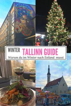 Winter in #Tallinn ist magisch. Warum du gerade im Winter nach #Estland musst.
