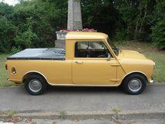 1980 Classic Austin Rover Mini Pickup in Sandglow | eBay