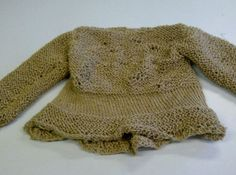 Orgasmo Adulto Escapes From The Zoo (Franca Rame & Dario Fo) Jumper for Rape monologue (knitted from string)