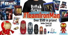 Disney Infinity Prize Pack Giveaway #CaptainAmericaEvent #IronManEvent