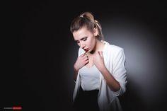 A fashion set with Alena testing the new Fuji X70