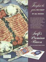 Swift's Premium Bacon 1947 Ad Picture