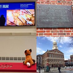 #AdmissionsVixen Rose loves visiting historical sites. She took full advantage of all Boston had to offer. She made sure to visit Faneuil Hall. @faneuilhall