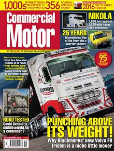 15th December 2016► Birds Transport & Logistics MD dispels rumours that the firm is closing ► What dealers and operators think 2017 will have in store for the new and used truck markets ► We put the Renault D 6x2 rigid through its paces ► We swing by laundry machinery transport firm Blackmores Machinery Haulage