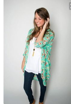 Stitch Fix Stylist- Spring floral cardigan Stitch fix 2016- I think I like the idea of this, but not sure until I try it on- Ashleigh https://www.stitchfix.com/referral/5657947