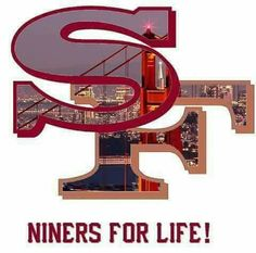 Niners Girl, Sf Niners, Forty Niners, Nfl 49ers, 49ers Fans, 49ers Images, Sports Team Logos, Nfl Logo, Great Team
