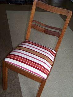 st hle im wohnzimmer dunkelbraun streichen und mit roten stoff neu beziehen redo furniture. Black Bedroom Furniture Sets. Home Design Ideas