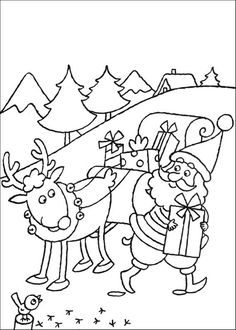 Santa And Reindeer Coloring Pages 1 See the category to find more printable coloring sheets. Also, you could use the search box to find what you want. Snowman Coloring Pages, Printable Christmas Coloring Pages, Summer Coloring Pages, Bird Coloring Pages, Dog Coloring Page, Free Coloring Sheets, Alphabet Coloring Pages, Mandala Coloring Pages, Printable Coloring