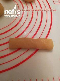Margarinsiz (Ağızda Dağılan) Tuzlu Kurabiye - Nefis Yemek Tarifleri Rolling Pin, Rolls, Gluten, Cases, Buns, Bread Rolls