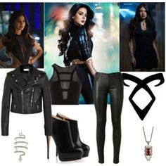Isabelle Lightwood Outfit - Shadowhunters