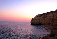 Praia de Carvoeiro. Portugal