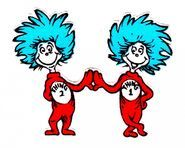 Free Cat In The Hat Clip Art of Images for cat in the hat thing 1 and thing 2 clip art clipart image for your personal projects, presentations or web designs. Dr Seuss Art, Dr Seuss Week, Dr Suess, 2 Clipart, Free Clipart Images, Dr Seuss Coloring Pages, Free Coloring Pages, Thing1 And Thing 2, Thing One Thing Two