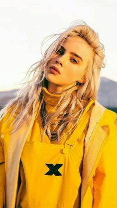 Celebs Discover Spott - Interactive video and interactive images - Pay for performance Billie Eilish looking good, wearing a Yellow Jacket Billie Eilish, Videos Instagram, Models Makeup, Celebs, Celebrities, Cover Art, Safari, Beautiful People, Yellow