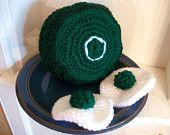 Green Eggs and Ham Crochet Play Set