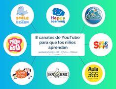 AYUDA PARA MAESTROS: 8 canales de YouTube para que los niños aprendan Jean Piaget, Homeschool, Classroom, Teacher, Social Media, Blog, Apps, Engagement, Videos