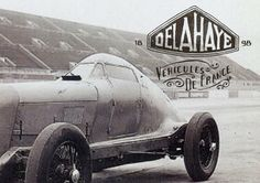 Delahaye automobile manufacturing company was started by Emile Delahaye in 1894, in Tours, France. His first cars were belt-driven, with single- or twin-cylinder engines. In January 1901, Delahaye left the company due to his failing health.
