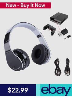 17cb95d159b Bluetooth Wireless Hifi Stereo Gaming Headset Earphone w Mic for Sony PC
