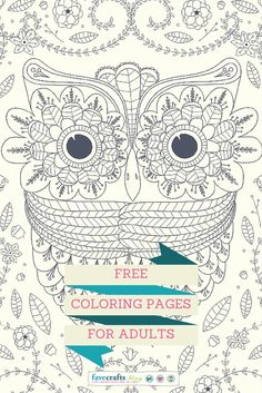 10 Free Coloring Pages For Adults