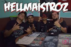 Desde monterrey Los HellMaistroz! puro ponch! durante su presentación en el Rockers