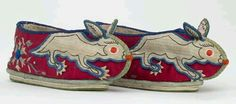 Shoe making inspiration - Traditional Chinese new year baby shoes