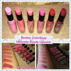 Revlon Colorstay Ultimate Suede Lipstick Swatches | Revlon ...