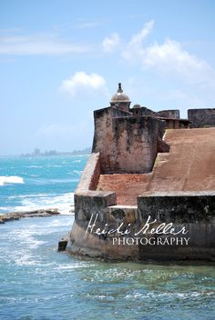 San Juan Puerto Rico. I'd like to go back and actually see it, not just the airport!