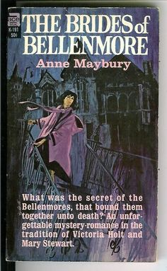 anne maybury books the brides of bellenmore | THE BRIDES OF BELLENMORE by Anne Maybury, rare US Ace Gothic gga pulp ...