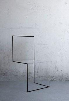 Chaise minimale par NN Design Band
