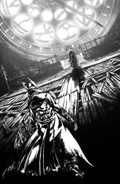 The astral clocktower and Lady Maria. You really should leave a.. Corpse.. alone