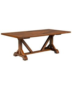 crate and barrel trestle extension dining table collections