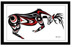northwest native american buck art - Google Search