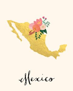 Mexico Map Mexico Art Mexico Poster Mexico by WhitespaceAndDaisy Cute Wallpapers, Wallpaper Backgrounds, Iphone Wallpaper, Simple Lion Tattoo, Lion Tattoo Design, Wedding Wall Decorations, Mexico Art, Best Friend Tattoos, Map Art