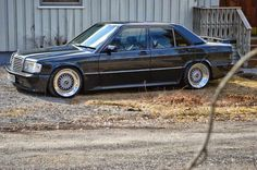 Mercedes-Benz 190e Widebody and 2JZ engine