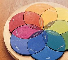 Is it a color wheel? is it a puzzle? well, whatever it is, it's awesome.