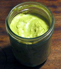 Rosemary Gladstar's green tea cream