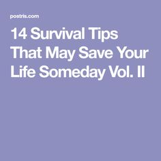13 Survival Tips That May Save Your Life Someday Survival Food, Survival Tips, Survival Skills, 72 Hour Kits, Disaster Preparedness, In Case Of Emergency, Weird Facts, Crazy Facts, Things To Know