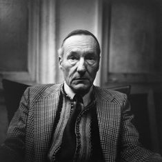 William S. Burroughs by Peter Hujar 1975