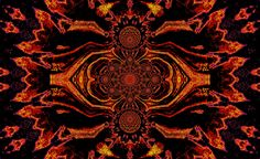 https://flic.kr/p/SW5SXA | Lotus Mandala in Orange and Black Pastels 1 by Sherrie D. Larch | A mandala is a piece of art design that symbolizes the universe in both Hinduism and Buddhism. These pieces of art are used as a meditation tool for visualization.   My Facebook Artist Page: www.facebook.com/sherriedlarch/