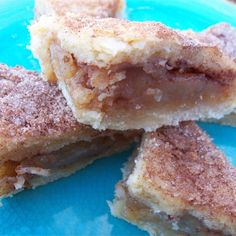 """Apple Pie Bars   """"Easy and delicious. Great for a party or just as a snack. A wonderful way to use apples."""""""