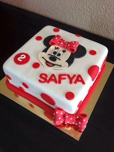 Cake design minnie