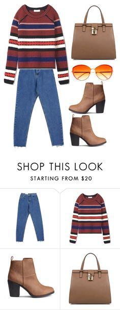 """""""Untitled #1566"""" by christawallace ❤ liked on Polyvore featuring Chicnova Fashion, Tory Burch and Dolce&Gabbana"""