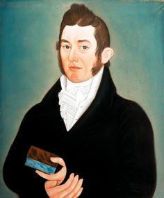 artist micah williams   Micah Williams 1782-1837 Portrait of John Van de Veer, Artist Gallery Talk